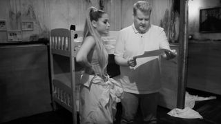 ariana grande james corden escape room The Late Late Show with James Corden