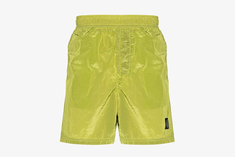 Nylon Metal Swim Shorts