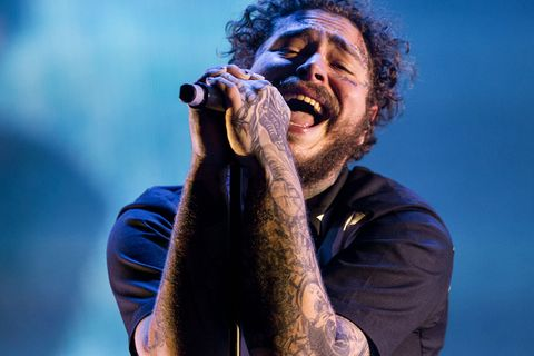 post malone hollywoods bleeding tracklist Travis Scott Young Thug meek mill