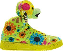 90d421920be5 adidas Originals by Jeremy Scott JS Bear  Flower Power