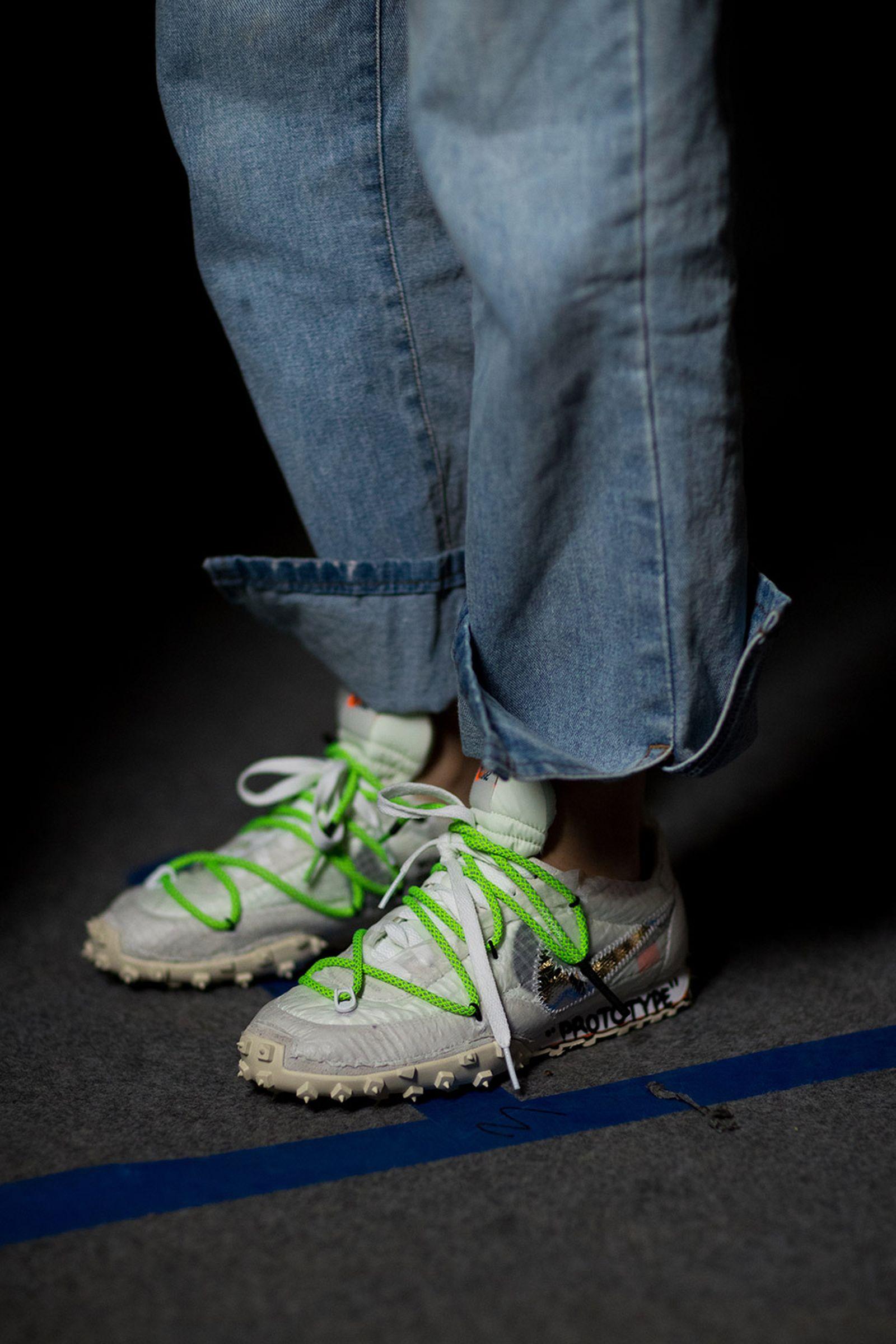 off white pfw ss19 footwear closer look OFF-WHITE c/o Virgil Abloh Paris Fashion Week SS19