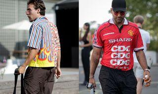 Prada's Half-and-Half Shirt Steals the Show at Copenhagen Fashion Week SS19