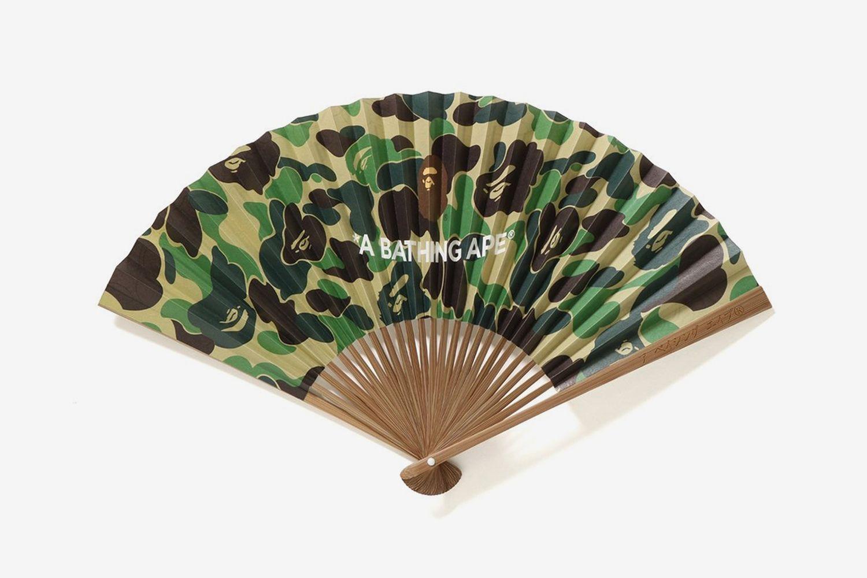 ABC Japanese Folding Fan