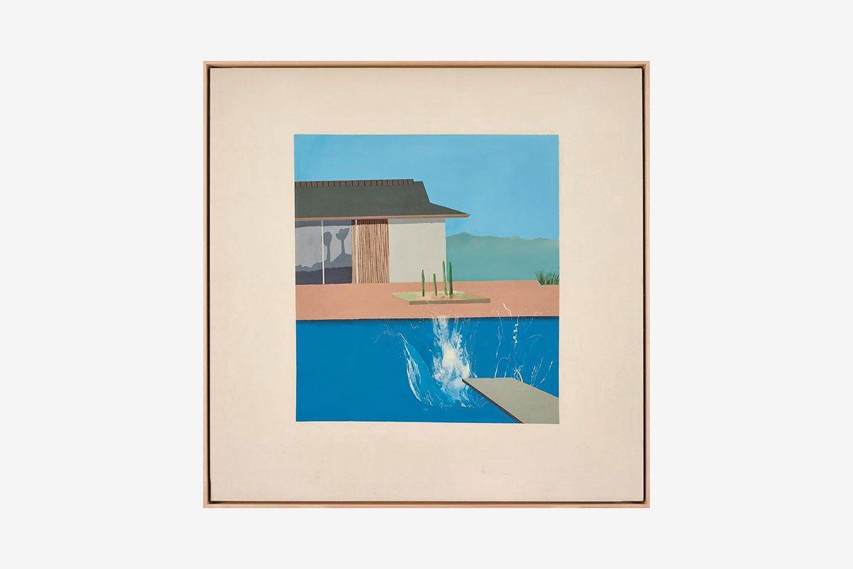 David Hockney The Splash