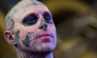 """Lady Gaga Apologizes for Tweet About """"Zombie Boy"""" Rick Genest's Death"""