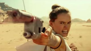 Rey gun Star Wars: The Rise of Skywalker clip
