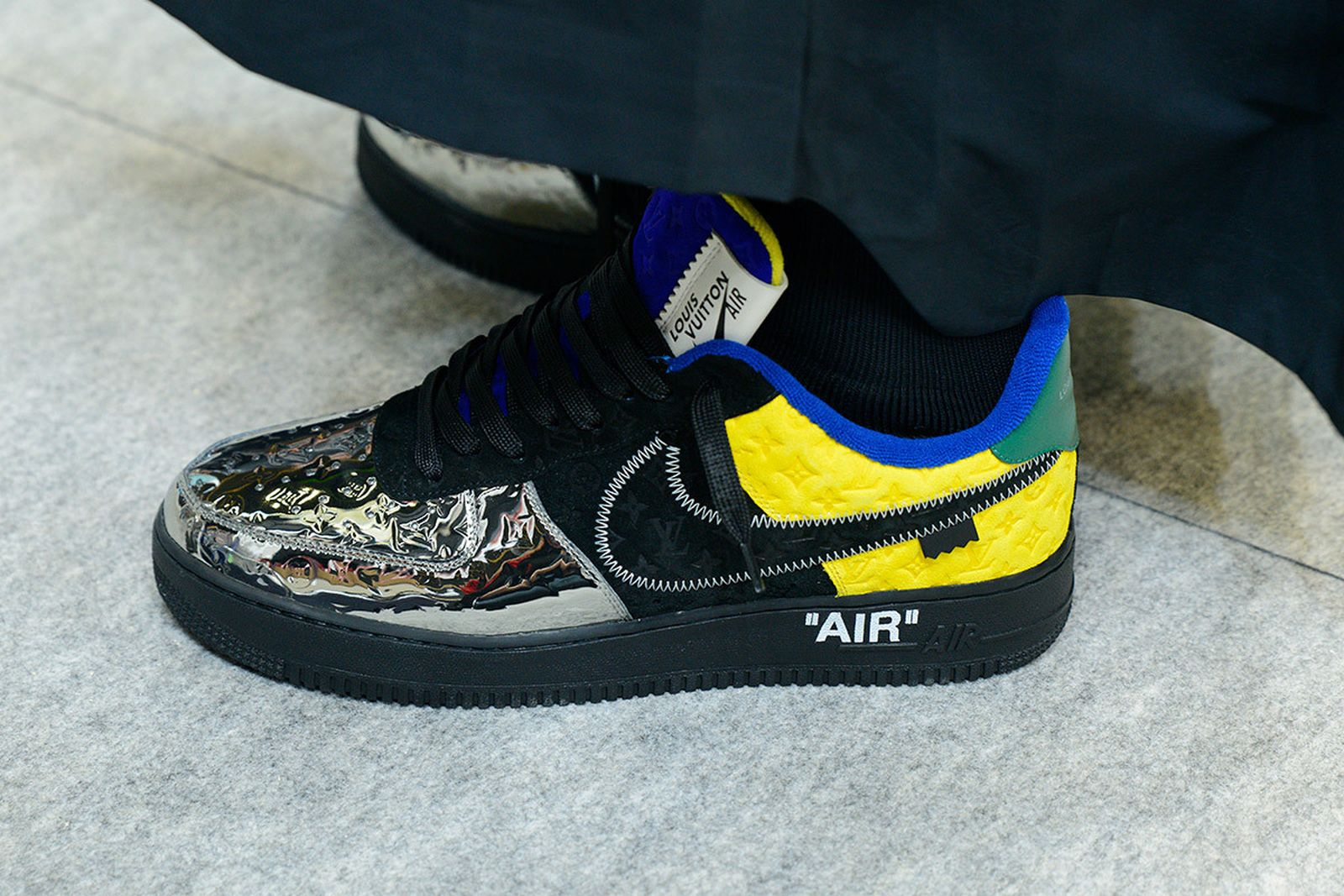 Louis Vuitton x Nike Air Force 1 Isn't a Collab, It's a Bootleg