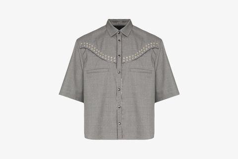 Studded Western Shirt