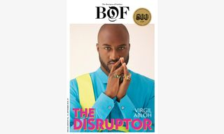 """'The Business of Fashion' Puts """"Disruptor"""" Virgil Abloh on the Cover of #BoF500 Issue"""