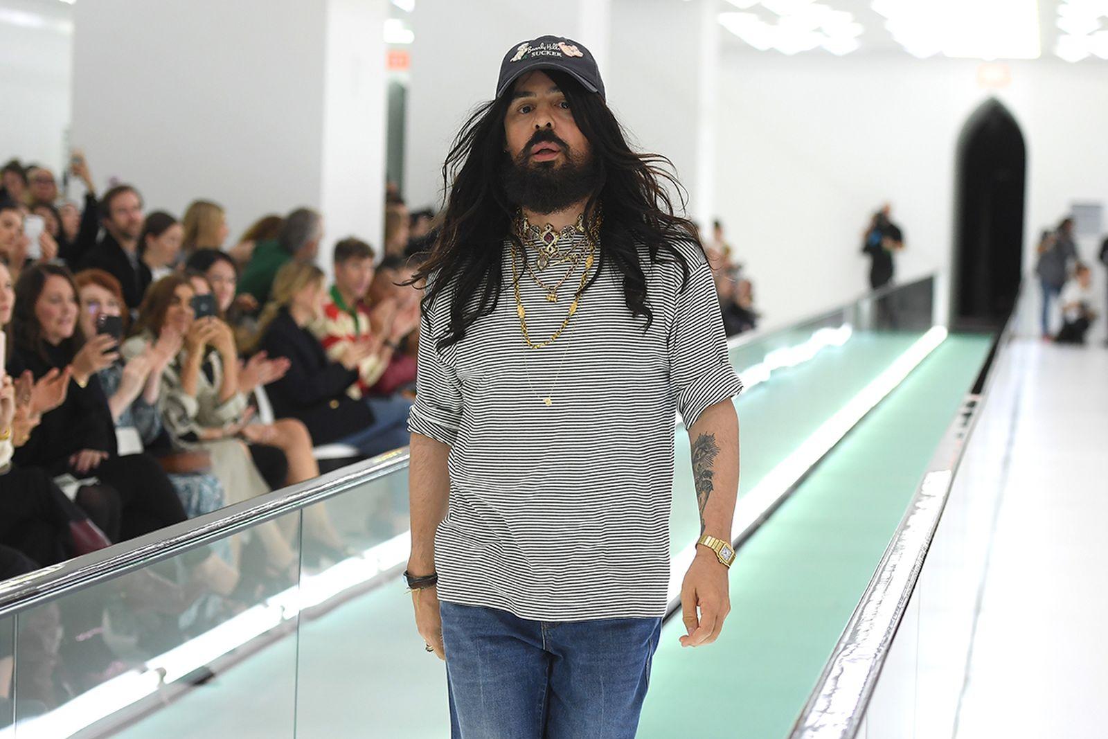 Alessandro Michele Gucci runway