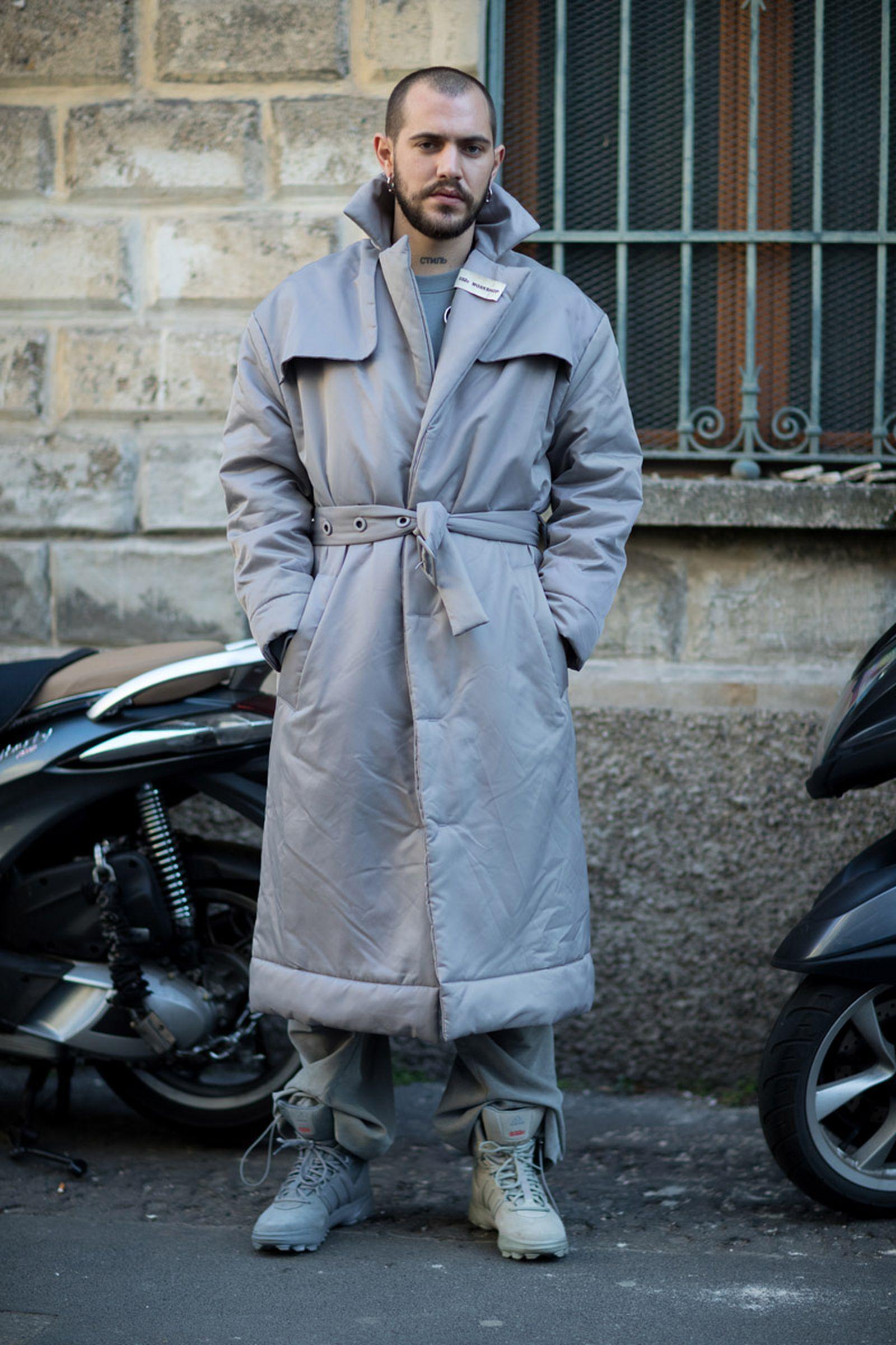 2milan fashion week street style 032c HBA x Colmar Supreme