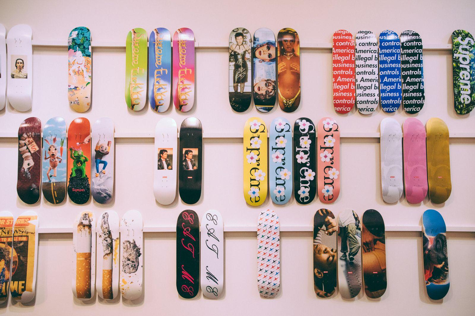 Sotheby's Supreme Skate Decks