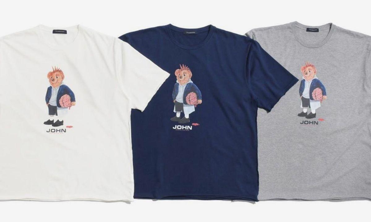 Jun Takahashi Reimagines the Ralph Lauren Bear for New JohnUNDERCOVER Goods