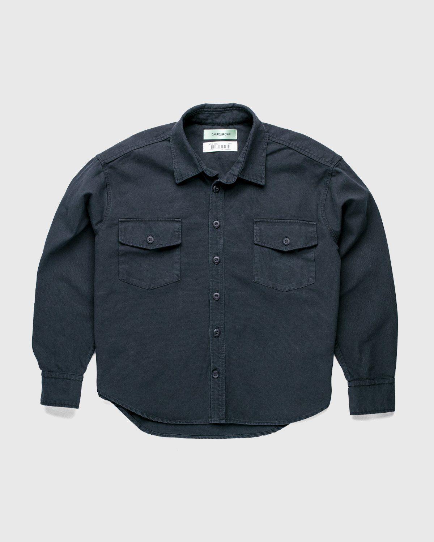Darryl Brown — Military Work Shirt Vintage Black - Image 1