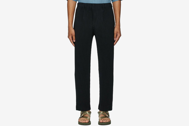 Basics Pleated Trousers