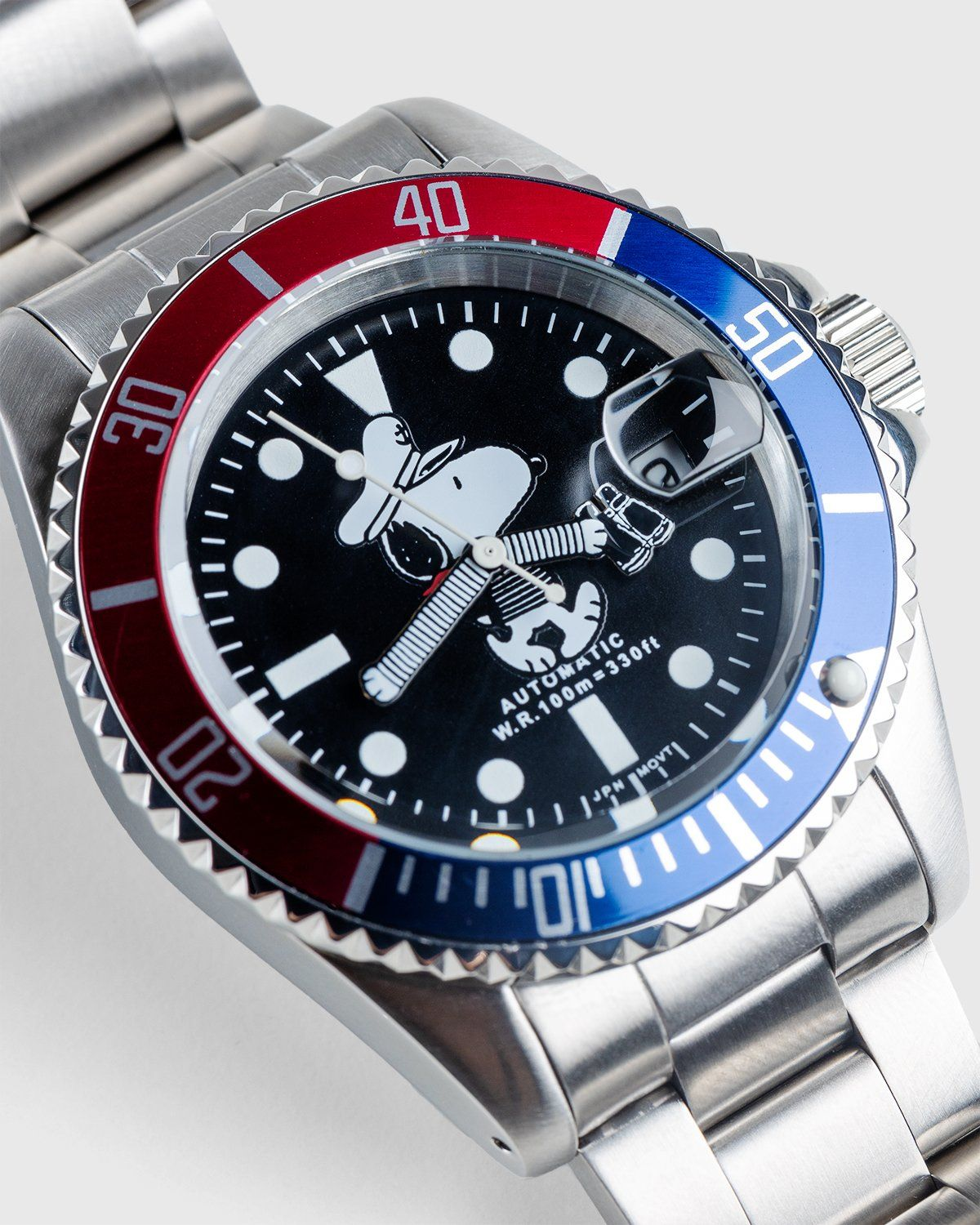 Vague Watch Co. — Sailing Snoopy Watch Grey - Image 3