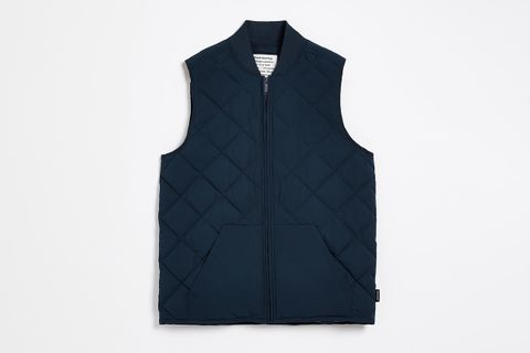 The Skyline Water Repellent Packable Puffer Vest