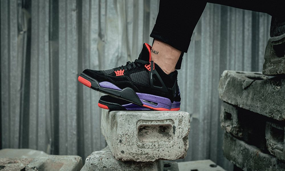 "e158cd5f2cdb Nike Air Jordan IV ""Raptors""  Buy Them Here Today"