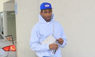 Tyler, the Creator Attends Kanye West's Sunday Service