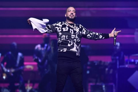 French Montana performs at TIDAL's benefit concert