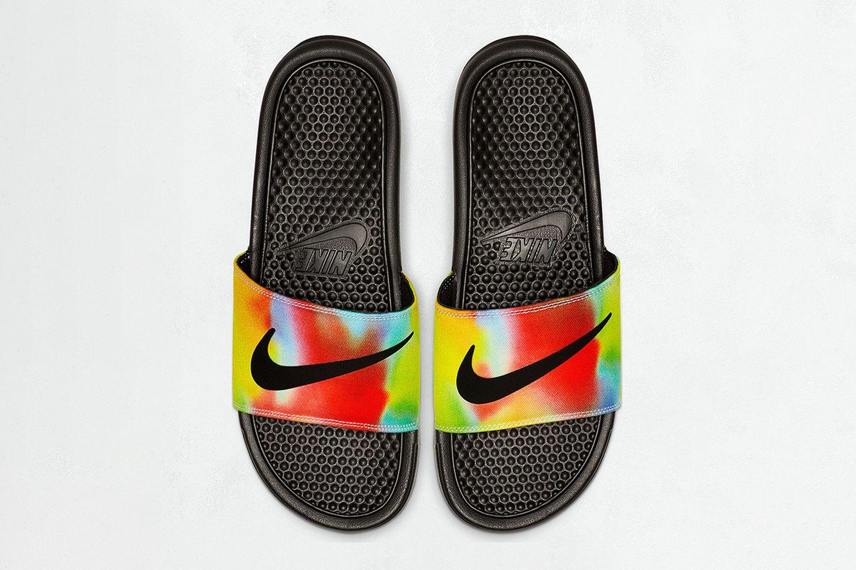 Benassi JDI Tie-Dye Slide Sandal
