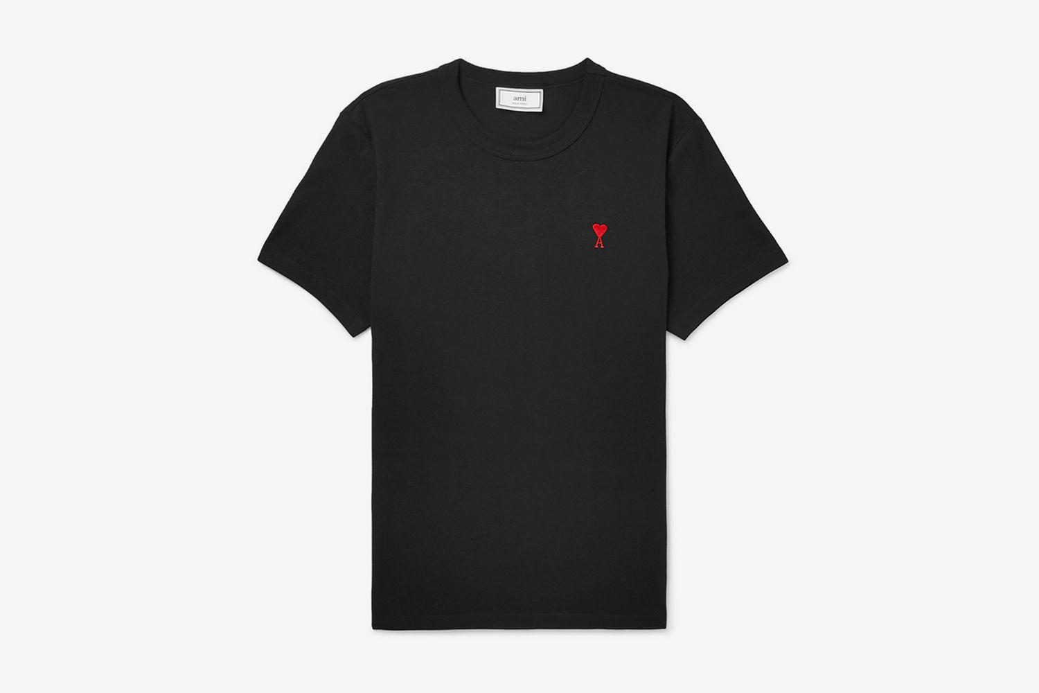 Slim-Fit Embroidered Cotton-Jersey T-Shirt