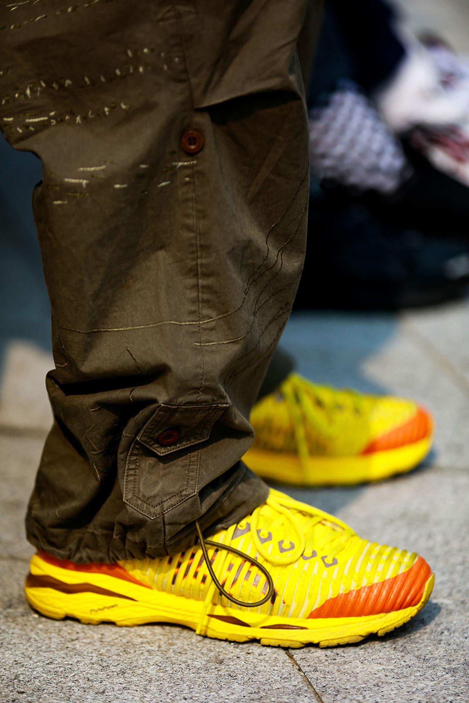 FW19 Seoul StreetStyle Sneakers PaulJeong 01 Sneaker street style seoul fashion week
