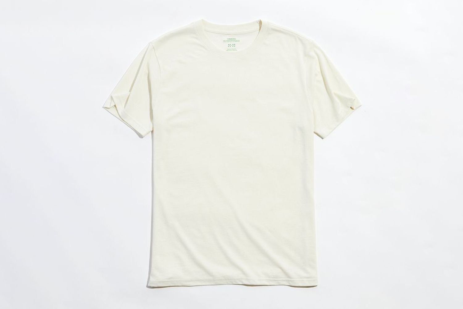 Recycled Cotton Crew Neck Tee