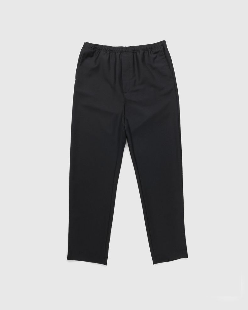 Acne Studios –  Mohair Blend Drawstring Trousers Black