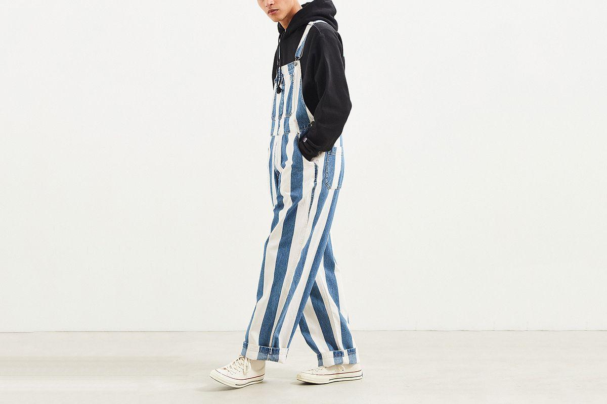 Stripe Denim Overall