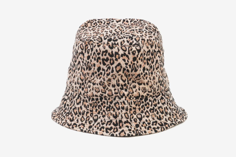 Leopard Print Bucket Hat