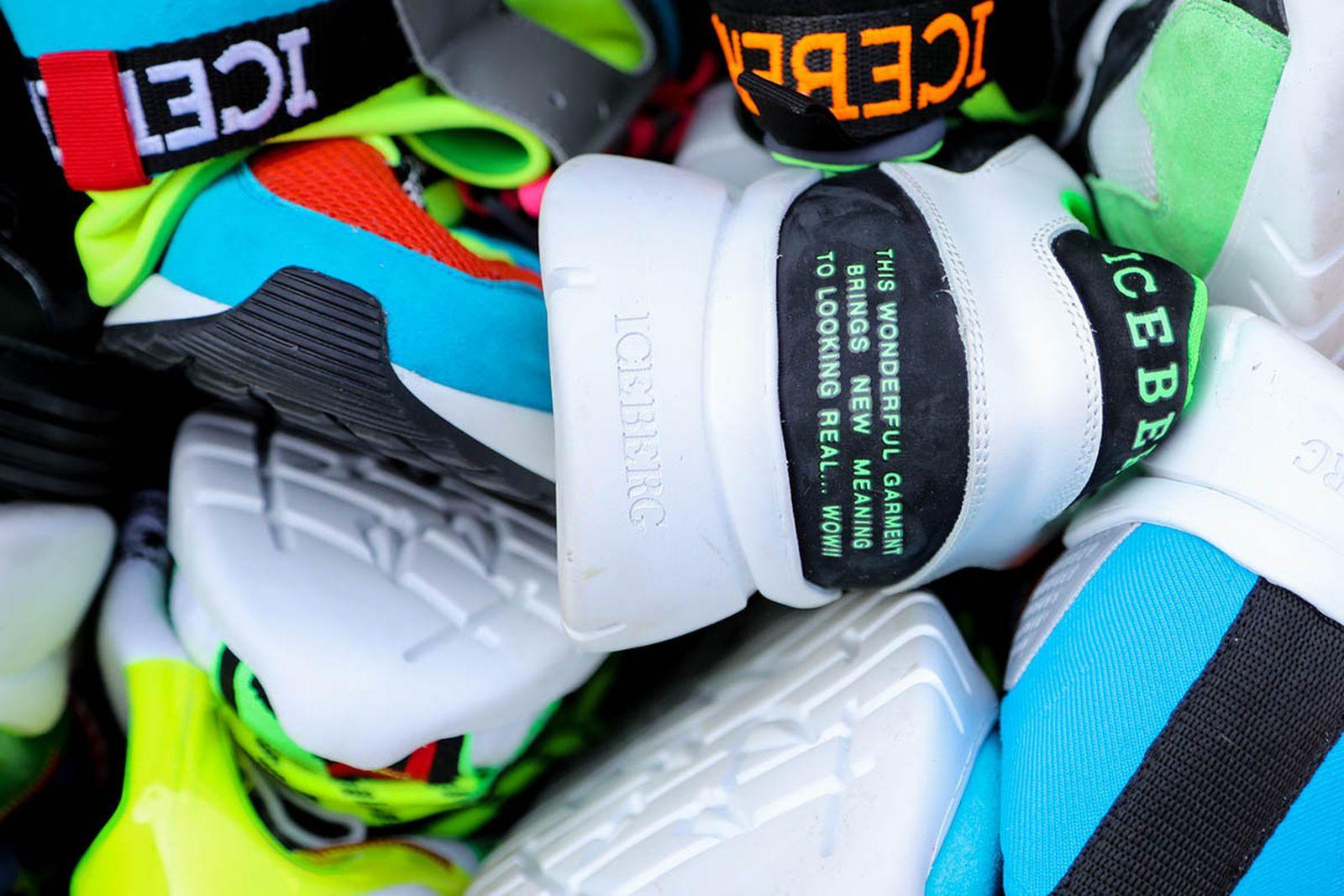 iceberg motorsport sneakers ss19 paninaro