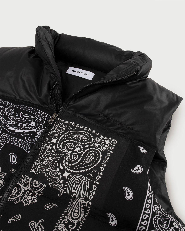 Miyagihidetaka Bandana Vest Black - Image 2