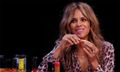 Halle Berry Talks Kanye West Lyrics While Cleaning Her Wings on 'Hot Ones'
