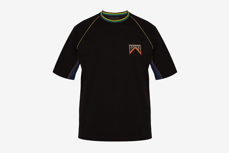 Logo Patch Cotton-piqué T-shirt