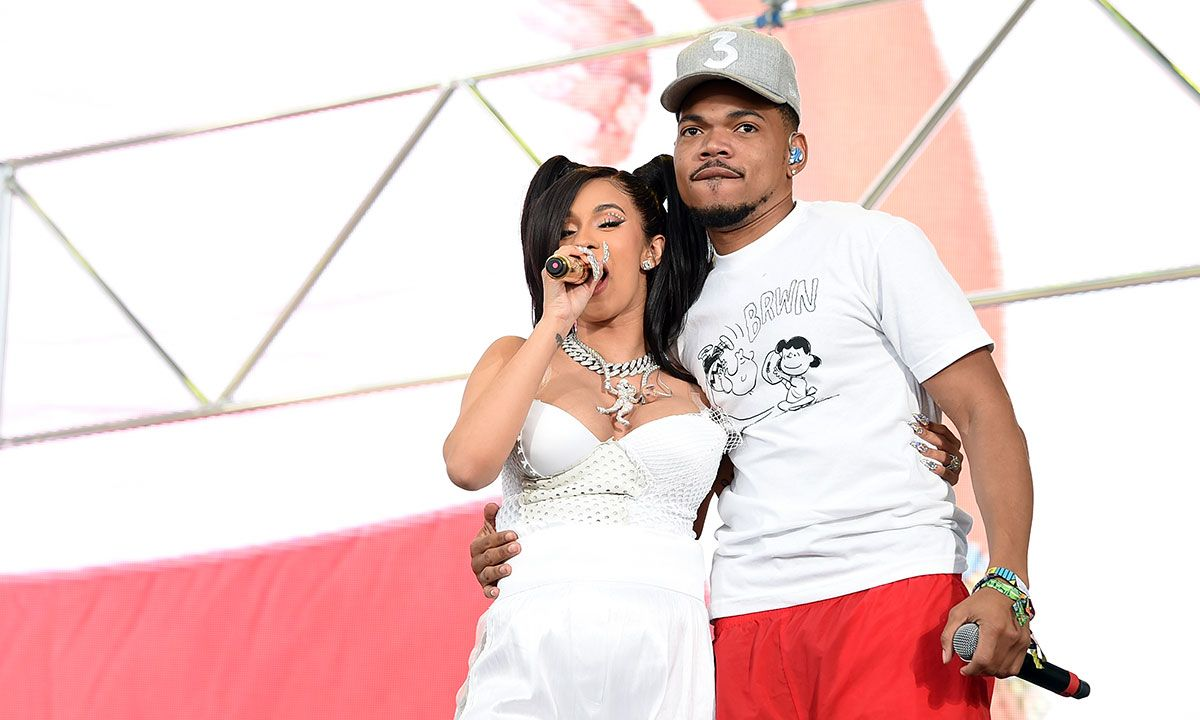 Cardi B & Chance the Rapper Think Trump Will Get Reelected in 2020