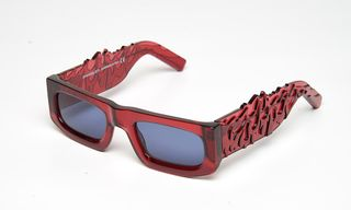 Turn Up the Heat of Your Shades Game With These Flame-Patterned Evangelisti Frames