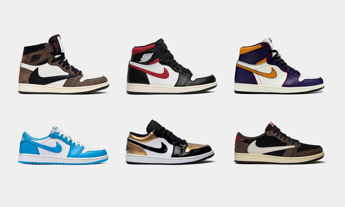 Shop High Mid Low Air Jordan 1 Colorways At Goat