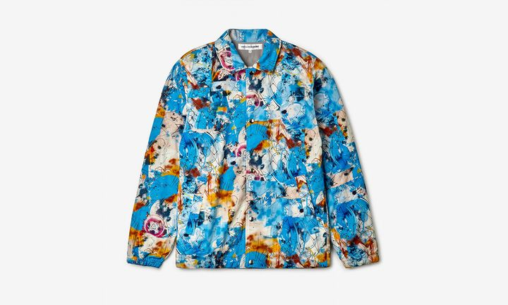 Futura x COMME des GARÇONS SHIRT jacket