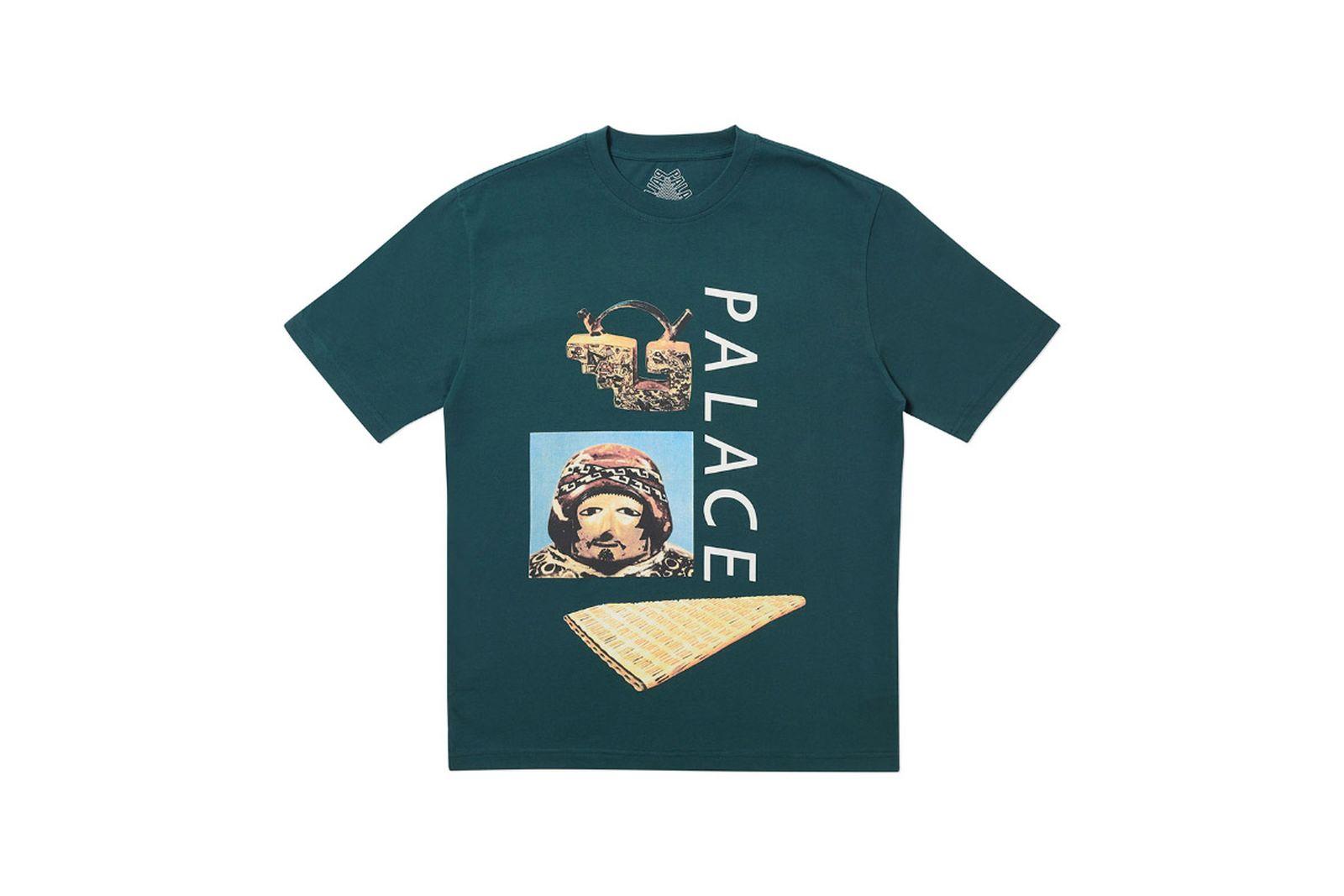 Palace 2019 Autumn T Shirt Tactic green