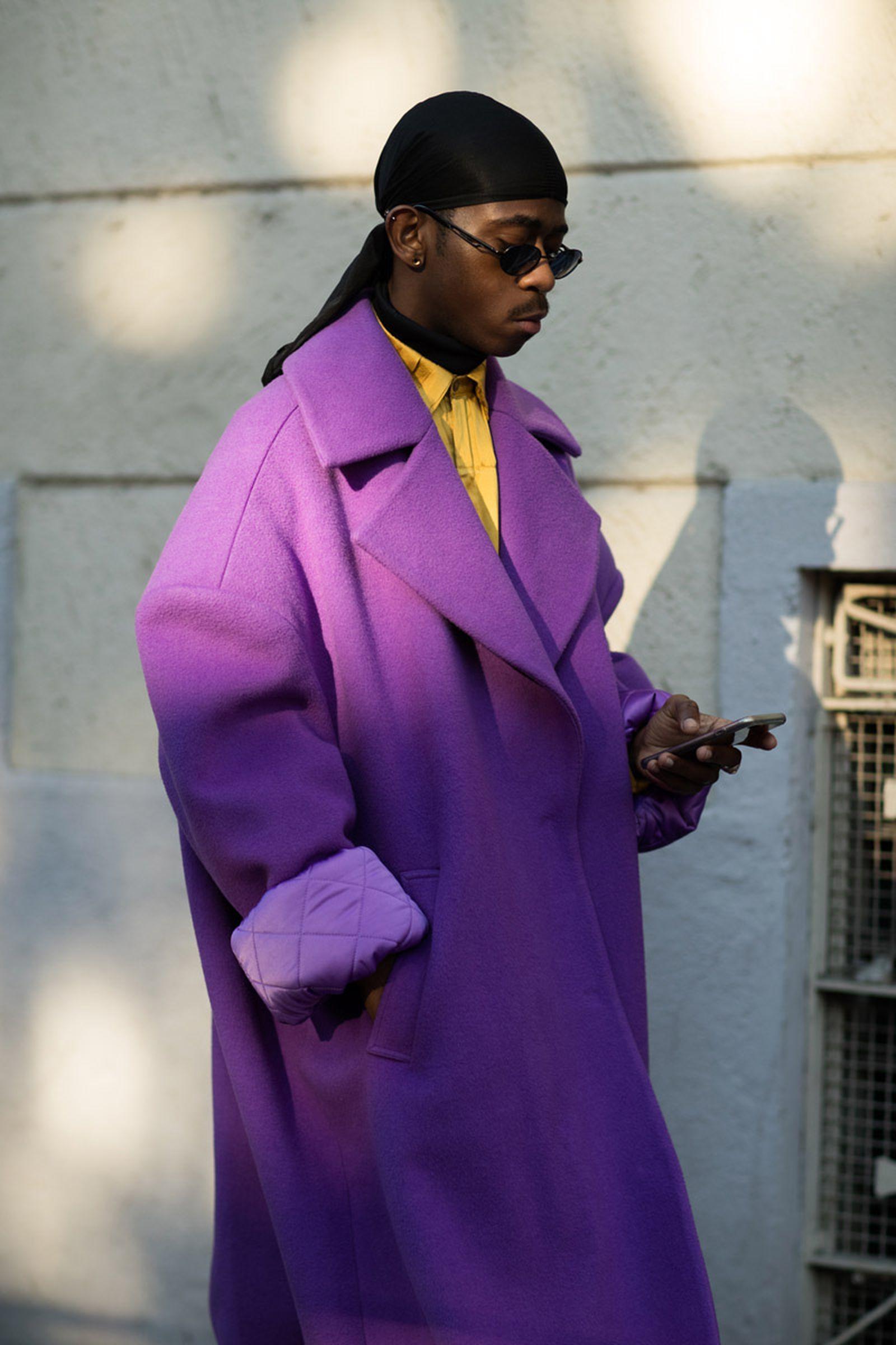 4milan fashion week street style 032c HBA x Colmar Supreme