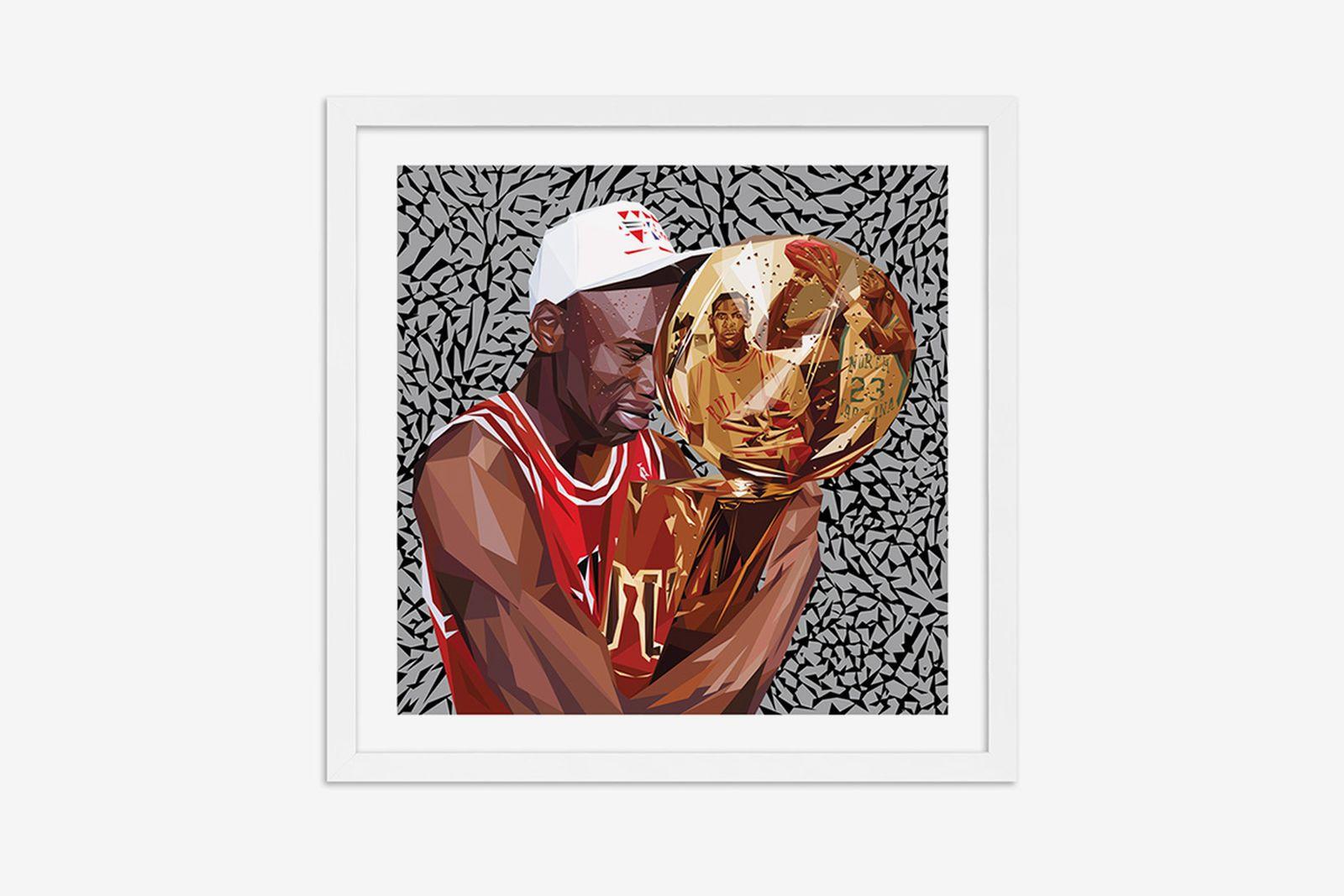 Michael Jordan artworks