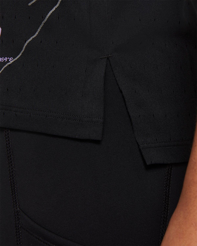 Nike x Highsnobiety – Womens Dri-Fit Berlin Aeroswift Singlet Black - Image 4