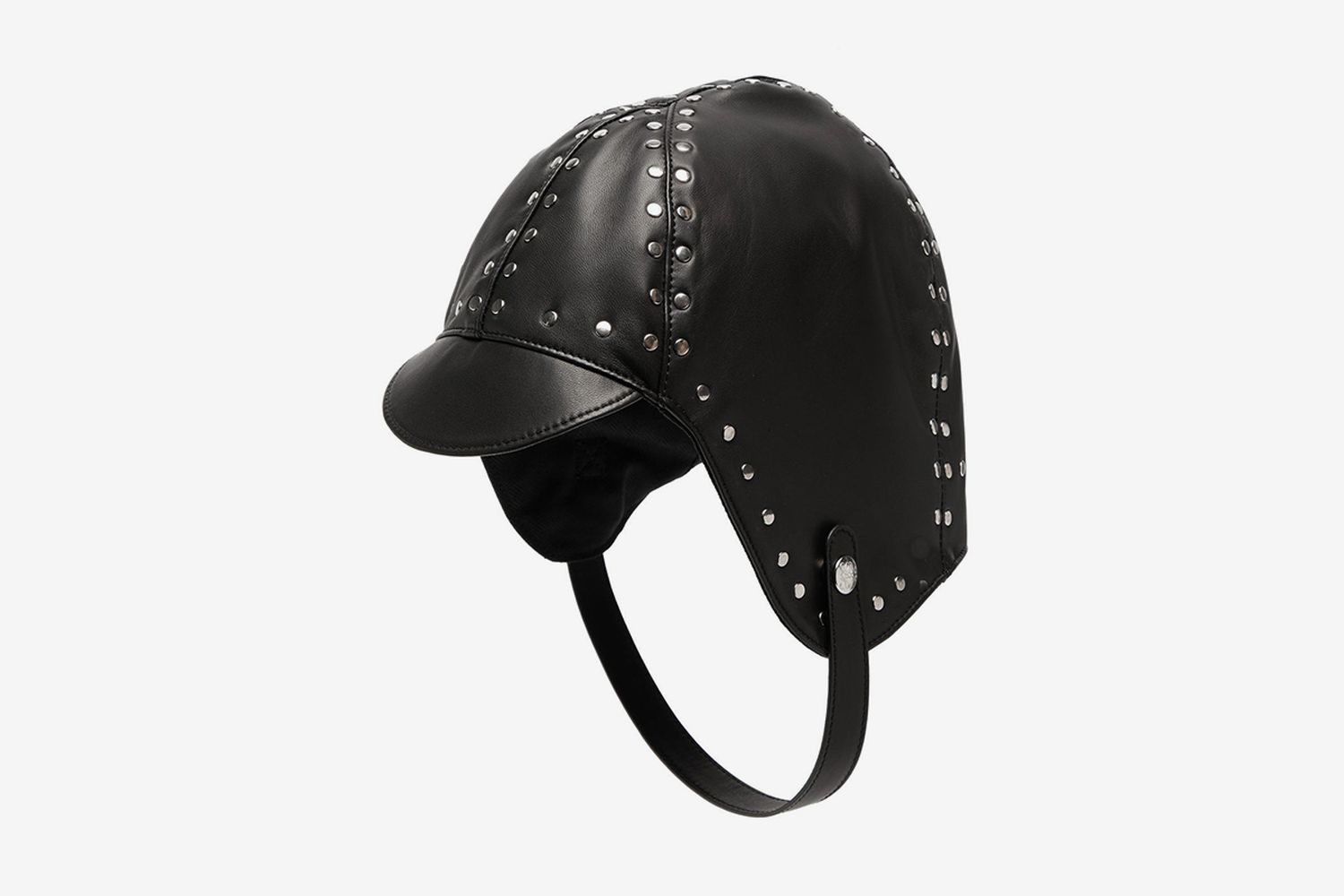 Studded Leather Driving Hat