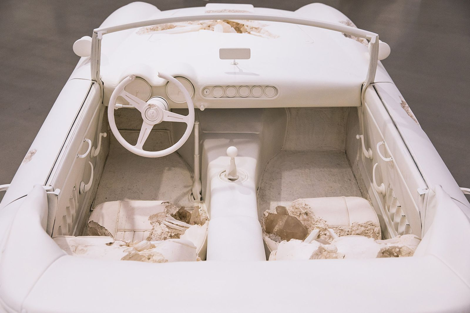 daniel arsham became one of todays most important artists by showing our destroyed future