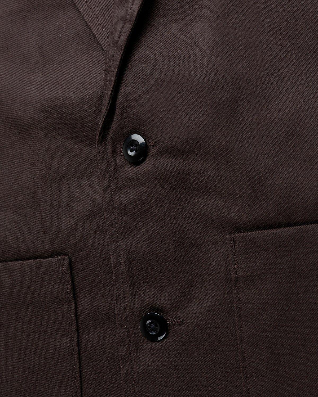 Highsnobiety x Dickies – Blazer Dark Brown - Image 4