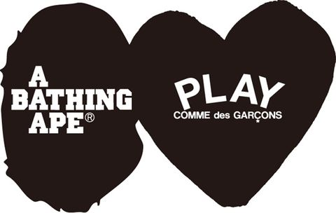 f5650481 A Bathing Ape x Comme des Garcons PLAY Collection - A First Look ...