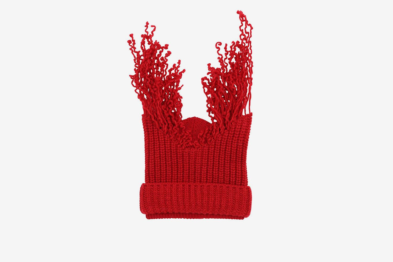 Virgin Wool Knit Beanie