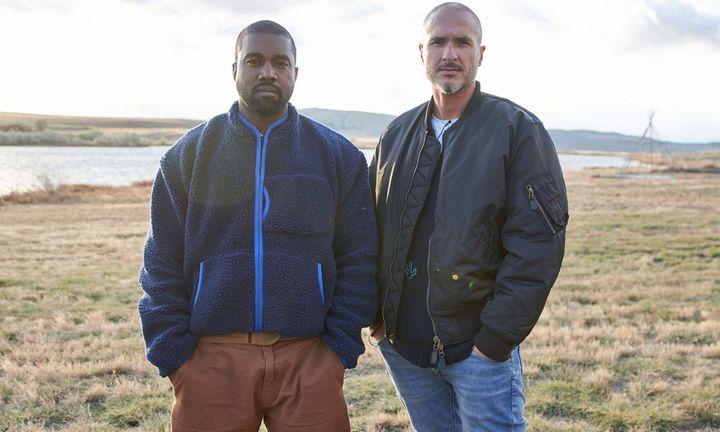 Kanye West and Zane Lowe