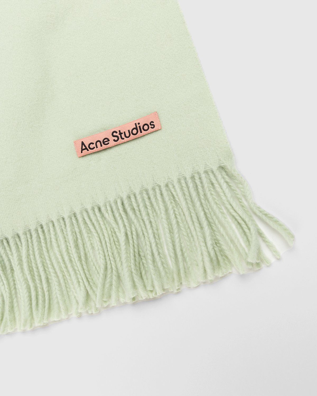 Acne Studios – Canada New Scarf Pale Green - Image 3